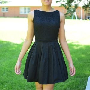 Black Formal Evening/coctail Dress Lace